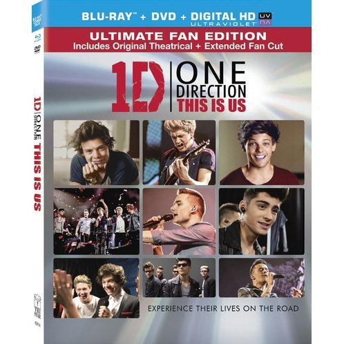 One Direction: This Is Us [Blu-ray+DVD+Digital HD UltraViolet]