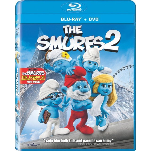The Smurfs 2 [Blu-ray+DVD]