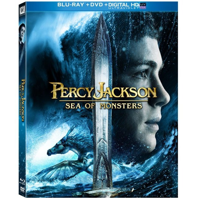 Percy Jackson: Sea of Monsters [Blu-ray+DVD+Digital HD UltraViolet]