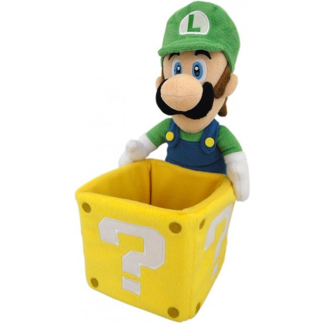 Super Mario Plush Accesory Case: Luigi