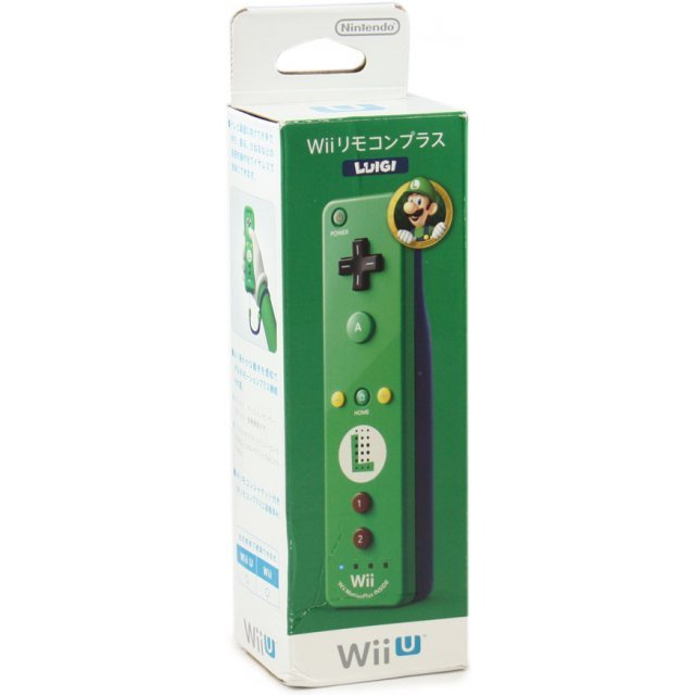 Wii Remote Control Plus (Luigi)