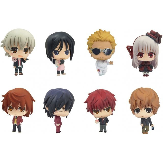 Color Collection K Vol.2 Non Scale Pre-Painted PVC Trading Figure (Set of 8 pieces)