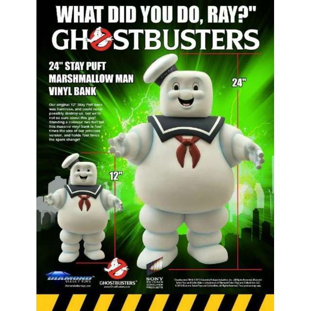 Ghostbusters: Stay Puft Marshmallow Man Vinyl Bank