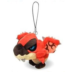 MH Monster Hunter Mini Mascot Plush: Rathalos