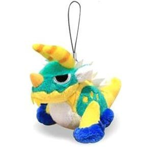 MH Monster Hunter Mini Mascot Plush: Zinogre