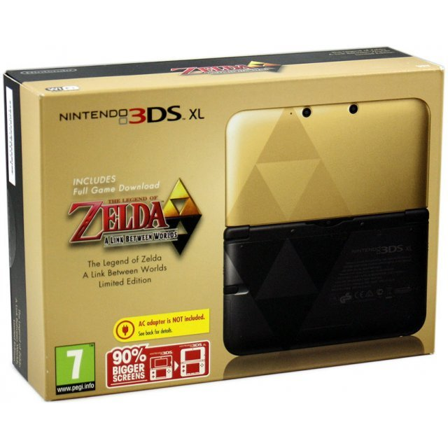 nintendo 3ds xl the legend of zelda a link between. Black Bedroom Furniture Sets. Home Design Ideas