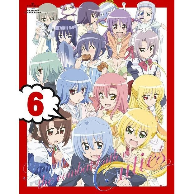 Hayate No Gotoku Cuties / Hayate The Combat Butler: Cuties Vol.6 [Blu-ray+CD Limited Edition]