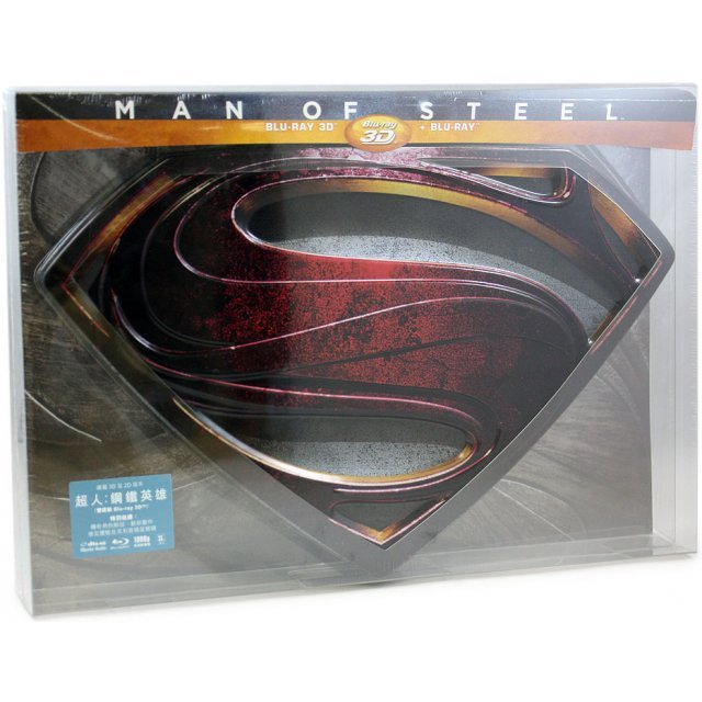 Man of Steel [3D+2D Limited Collector Edition]