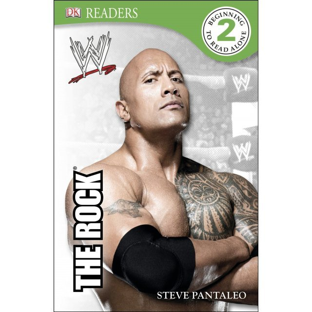 DK Reader Level 2: WWE The Rock (Hardcover)
