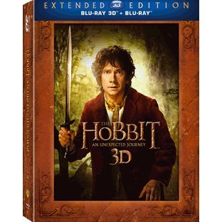 The Hobbit: An Unexpected Journey 3D [5 Disc Extended Edition]