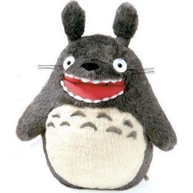 Tonari no Totoro Plush Doll: Barking Totoro (Small)