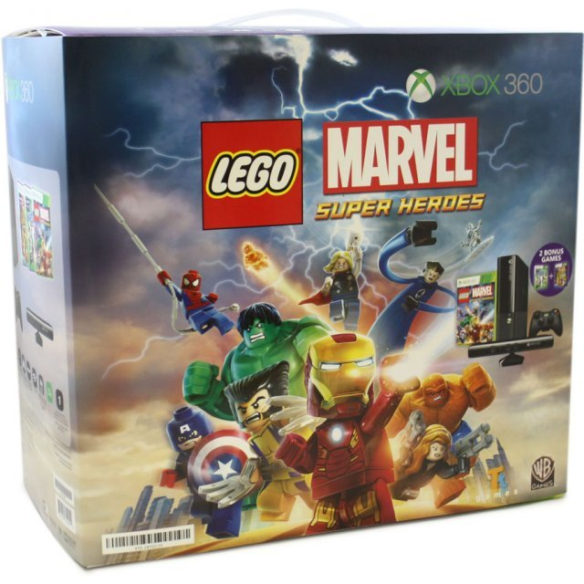 Xbox 360 4GB Kinect Marvel Super Hero Bundle (Kinect