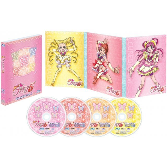 Yes Precure 5 Blu-ray Box Vol.1 [Limited Edition]