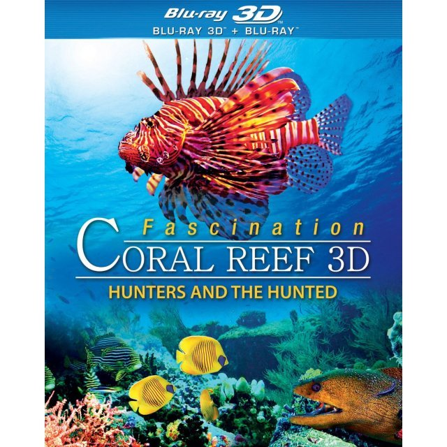 Fascination Coral Reef 3D: Hunters and the Hunted [Blu-ray 3D+Blu-ray]
