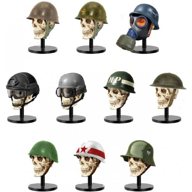Teppachi 2nd Combat Second Battle Helmet Collection (Set of 12 pieces)
