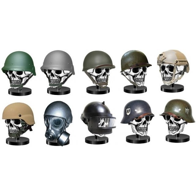 Teppachi Combat Helmet Collection (Set of 12 pieces) (Re-run)