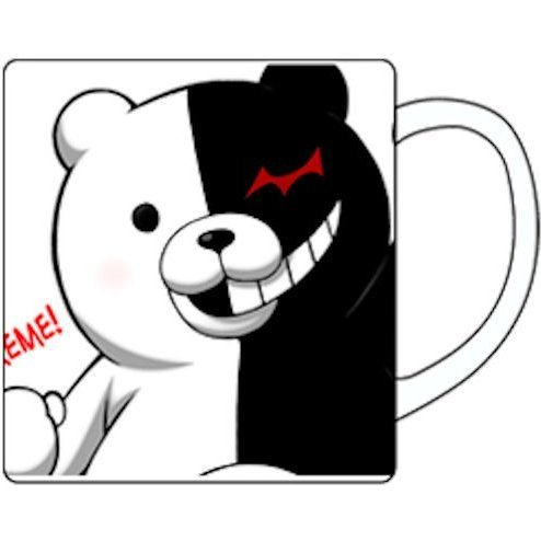 Danganronpa the Animation Mug Cup: Monokuma Extreme (Re-run)