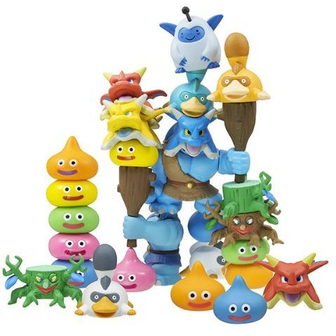Dragon Quest Stacking Slime! Collection Pack 5 (Set of 12 pieces)