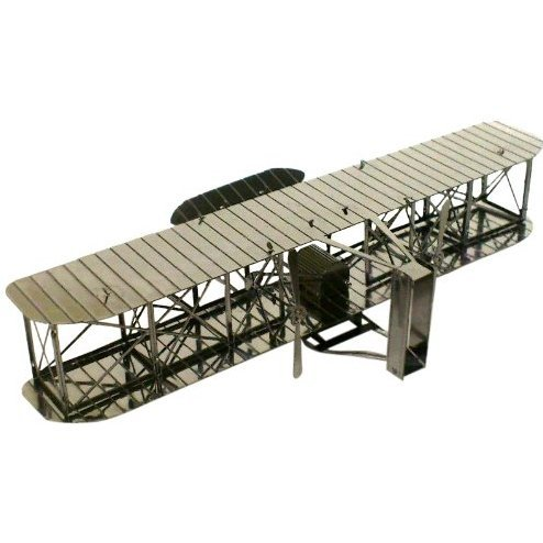 Metallic Nano Puzzle: Wright Flyer