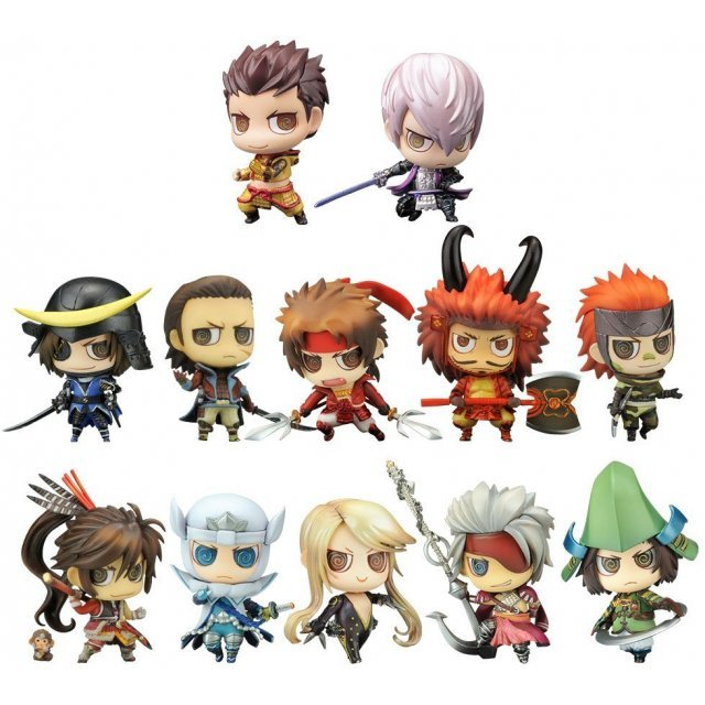 One Coin Grande Figure Collection Sengoku Basara: Heroes Gather (Set of 12 pieces)
