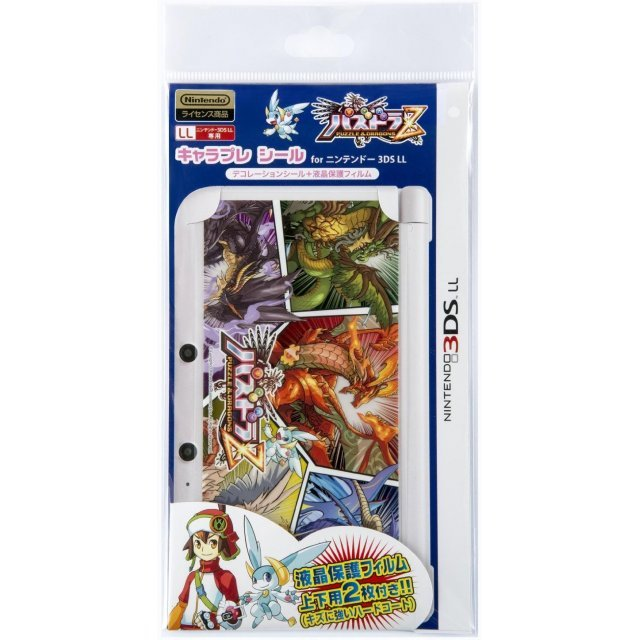 Puzzle & Dragons Z Chara Pure Seal for 3DS LL (Monster)