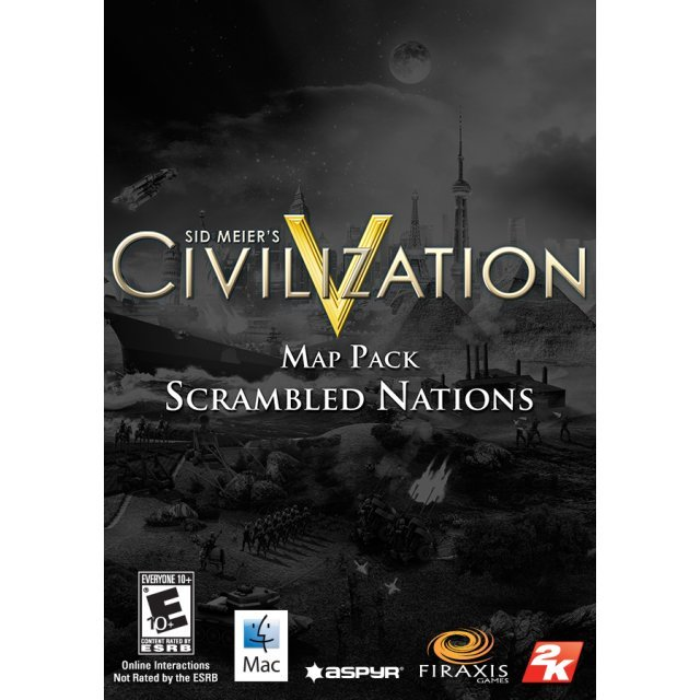 Sid Meier's Civilization® V: Scrambled Nations Map Pack