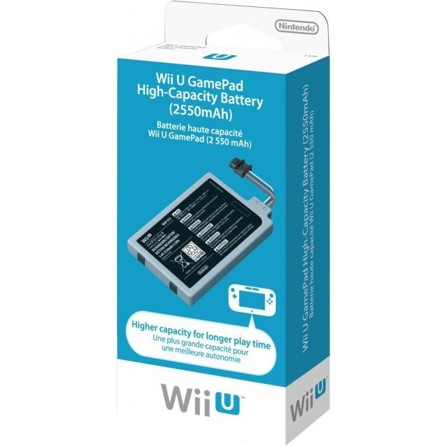 Wii U GamePad High-Capacity Battery (2550mAh)