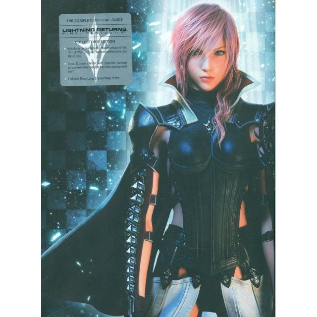 Lightning Returns: Final Fantasy XIII Guidebook (Hardcover)
