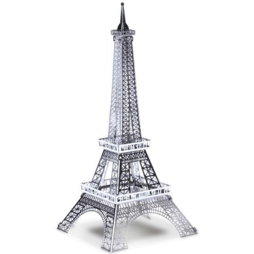 Metallic Nano Puzzle: Eiffel Tower