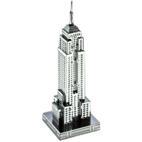 Metallic Nano Puzzle: Empire State Building