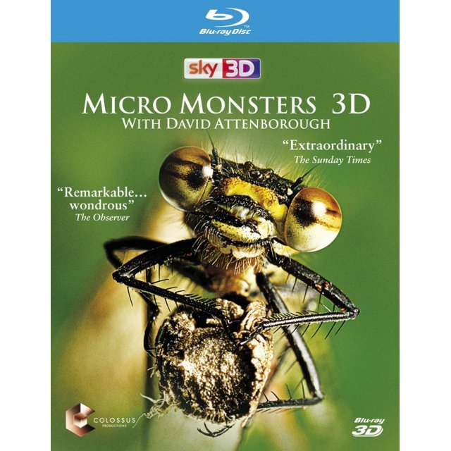 Micro Monsters with David Attenborough 3D [Blu-ray 3D]