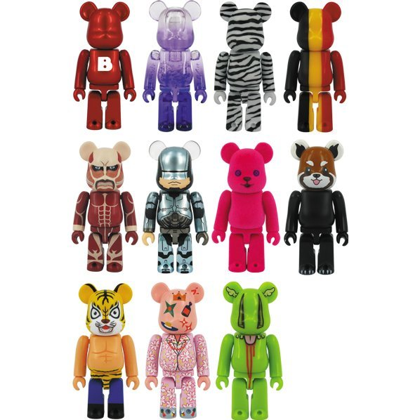 Be@rbrick Series 27 (Set of 24 pieces)