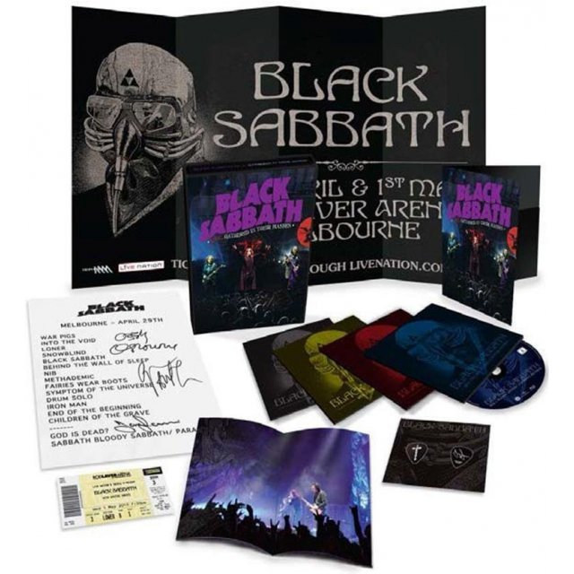 Black Sabbath Live... Gathered in Their Masses Deluxe [Blu-ray+DVD+CD]