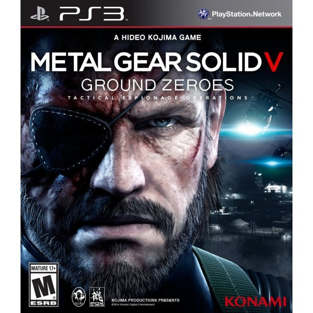 Kết quả hình ảnh cho Metal Gear Solid - Ground Zeroes cover ps3