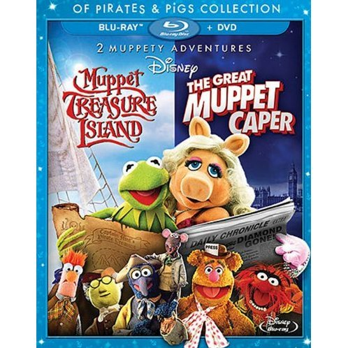 Muppet Treasure Island & The Great Muppet Caper [Blu-ray+DVD]