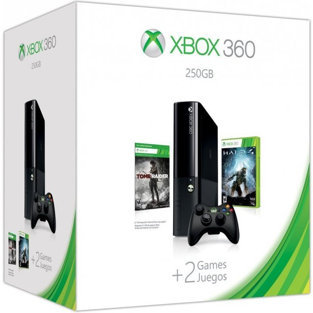Xbox 360 250GB Holiday Bundle (Halo 4)