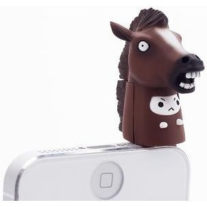 Earphone Jack: Horse Nyanko