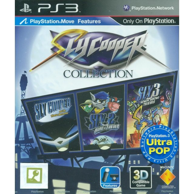 Sly Cooper Collection (PS3 Ultra Pop)