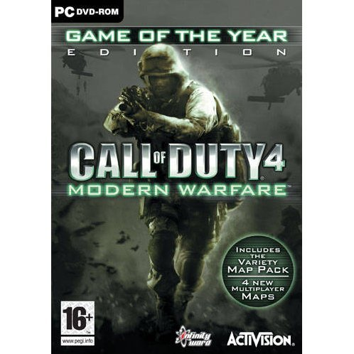 Call of Duty 4: Modern Warfare (Game of the Year Edition) (DVD-ROM)