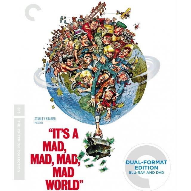 It's a Mad Mad Mad Mad World [Blu-ray+DVD]
