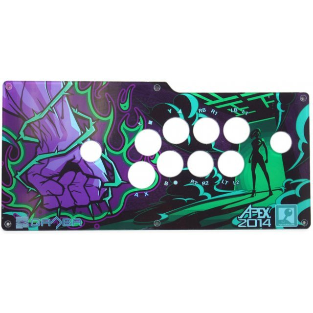Qanba Real Arcade Fighting Joystick Q4 Replacement Cover (8 buttons) (Apex 2014 x Play-Asia.com Limited Edition)