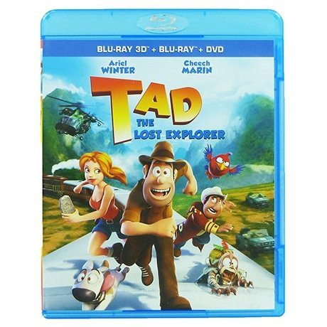 Tad: The Lost Explorer 3D [Blu-ray 3D+Blu-ray+DVD]
