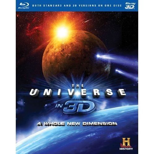Universe In 3D: Whole New Dimension [Blu-ray 3D+Blu-ray]