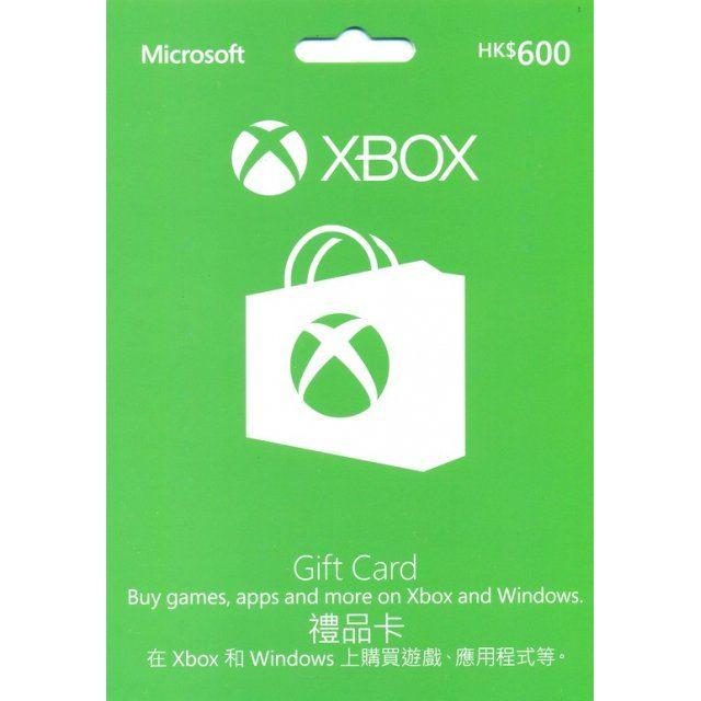 Xbox Gift Card HKD 600 digital