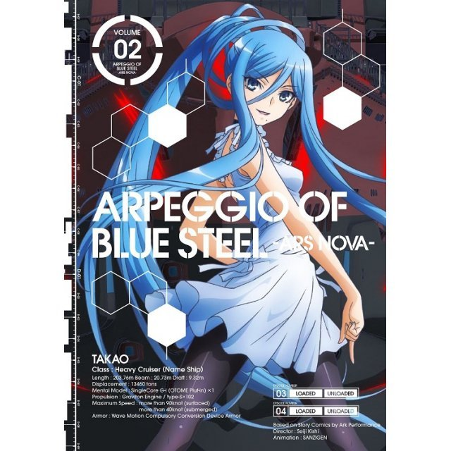 Arpeggio Of Blue Steel - Ars Nova Vol.2 [Blu-ray+CD Limited Edition]
