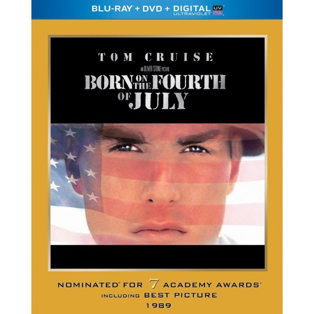 Born on the Fourth of July (Academy Award Series) [Blu-ray+DVD+Digital with UltraViolet]