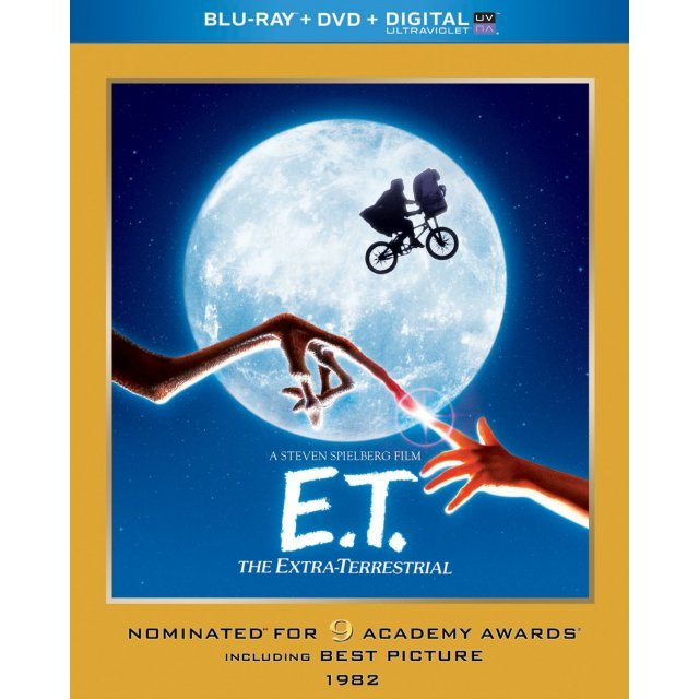 E.T.: The Extra-Terrestrial (Academy Award Series) [Blu-ray+DVD+UltraViolet]