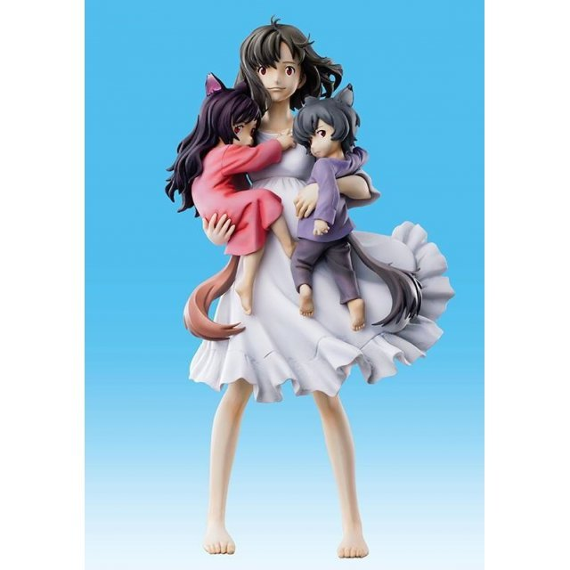 Super Figure Art Collection The Wolf Children: Ame and Yuki Hana