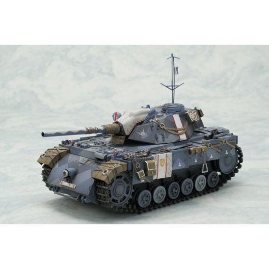 Valkyria Chronicles: Principality of Gallia Experimental Tank Edelweiss