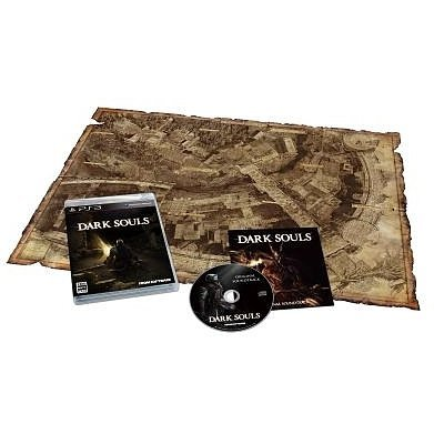 Dark Souls [Limited Edition with Special Map & Soundtrack]
